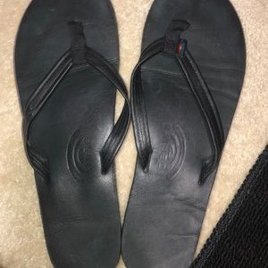 Rainbow flip flop